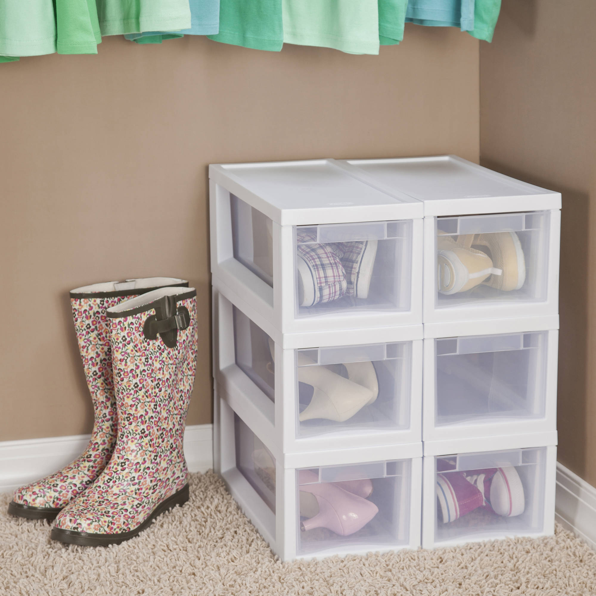 Sterilite Narrow Modular Drawers  White (Available In Case Of 6 Or Single  Unit)   Walmart.com