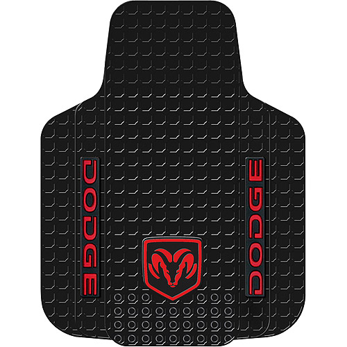 Plasticolor Dodge Pickup Floor Mat, Black