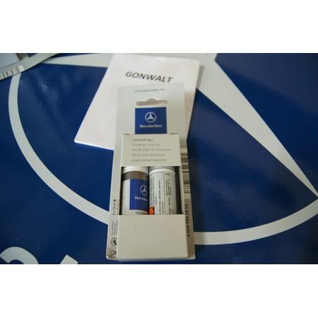 Mercedes Benz Paint - Mercedes Benz Genuine OE Touch of Paint Brush Lunar Blue Code 5890 890