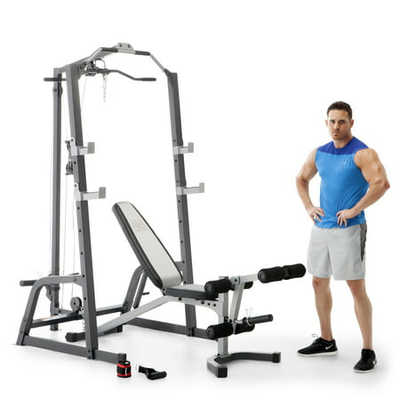 Marcy Home Gym Fitness Deluxe Cage System Machine With