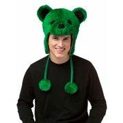 Grateful Dead Green Bear Adult Costume Hat