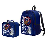 "NFL New York Giants ""Accelerator"" Backpack and Lunch Kit Set"