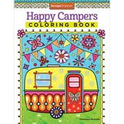 Design Originals-Happy Campers Coloring Book