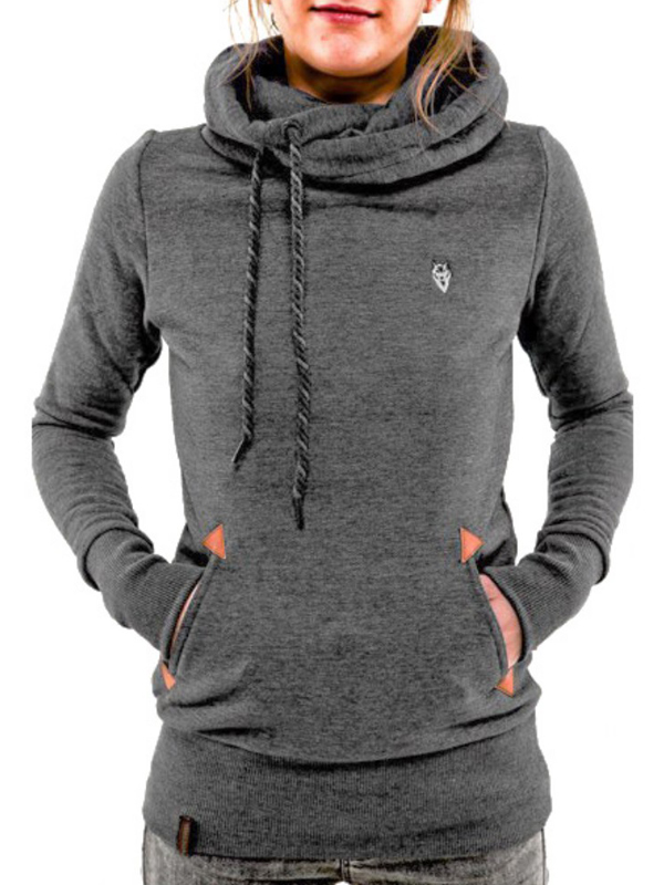 Babula Women Long Sleeve Hoodie Sweatshirt Pullover Top Coat by