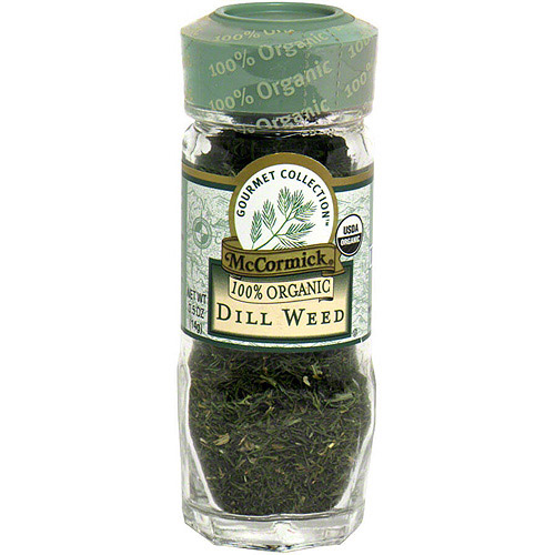 McCormick Gourmet Collection Herbs Dill Weed, 0.5 oz (Pack of 3)