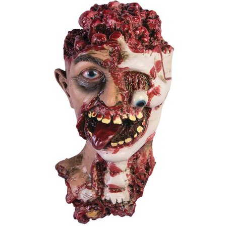 Morris Costumes FM75427 Rotted Zombie Head Prop - image 1 of 1