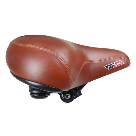 Cyclingdeal Super Comfortable Bike Bicycle Seat Extra Wide Soft Padded Saddle For Women and Men with Suspension Best Women Bicycle Saddle