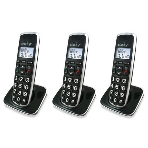 Clarity BT914HS Severe Hearing Loss Cordless Handset (3-Pack)