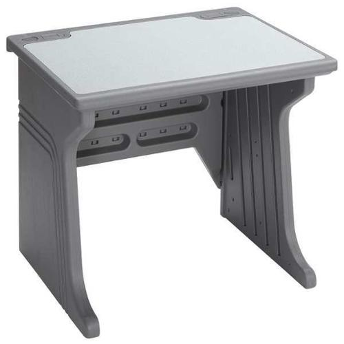 ICEBERG 92202 System Desk, 34 x 30 x 28 In, Charcoal