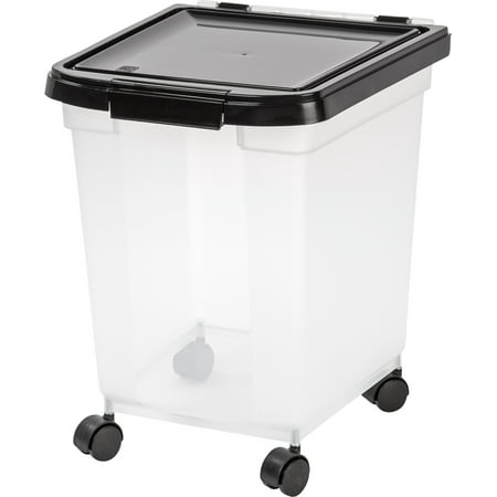 IRIS 32.5 Quart Airtight Pet Food Container,