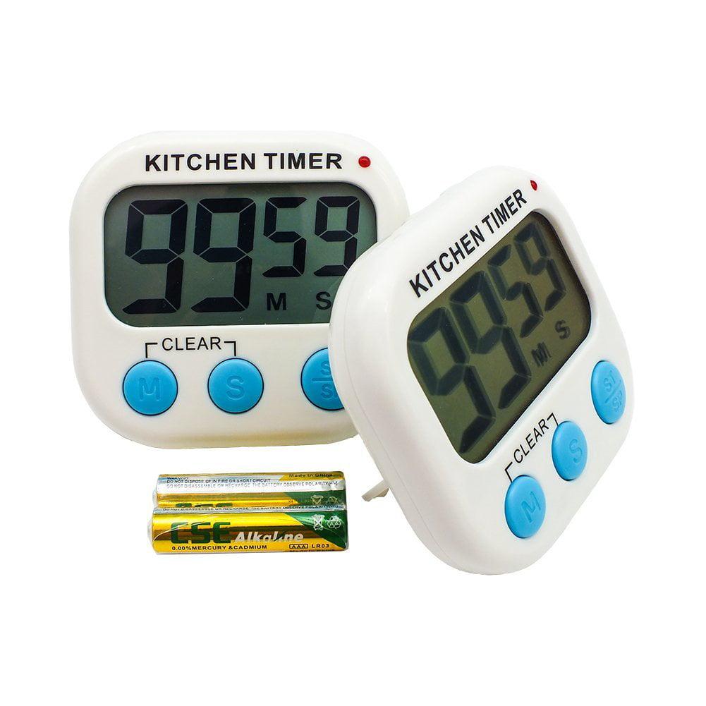 Digital Timer Quiet Small Cute, Gentle Alarm Up Down Sett...