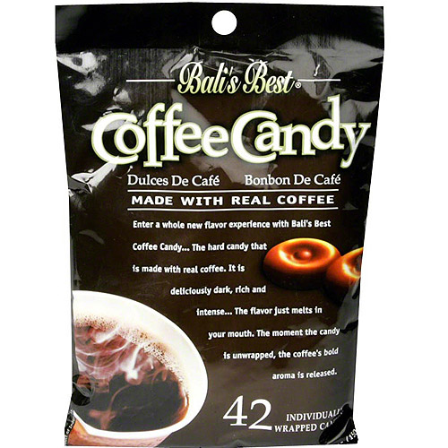 Bali's Best Coffee Candy, 5.3 oz (Pack of 12)