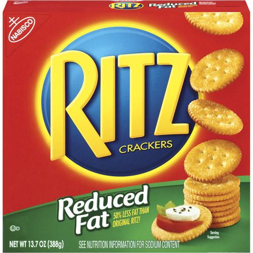 Nabisco Ritz Reduced Fat Crackers, 13.7 oz