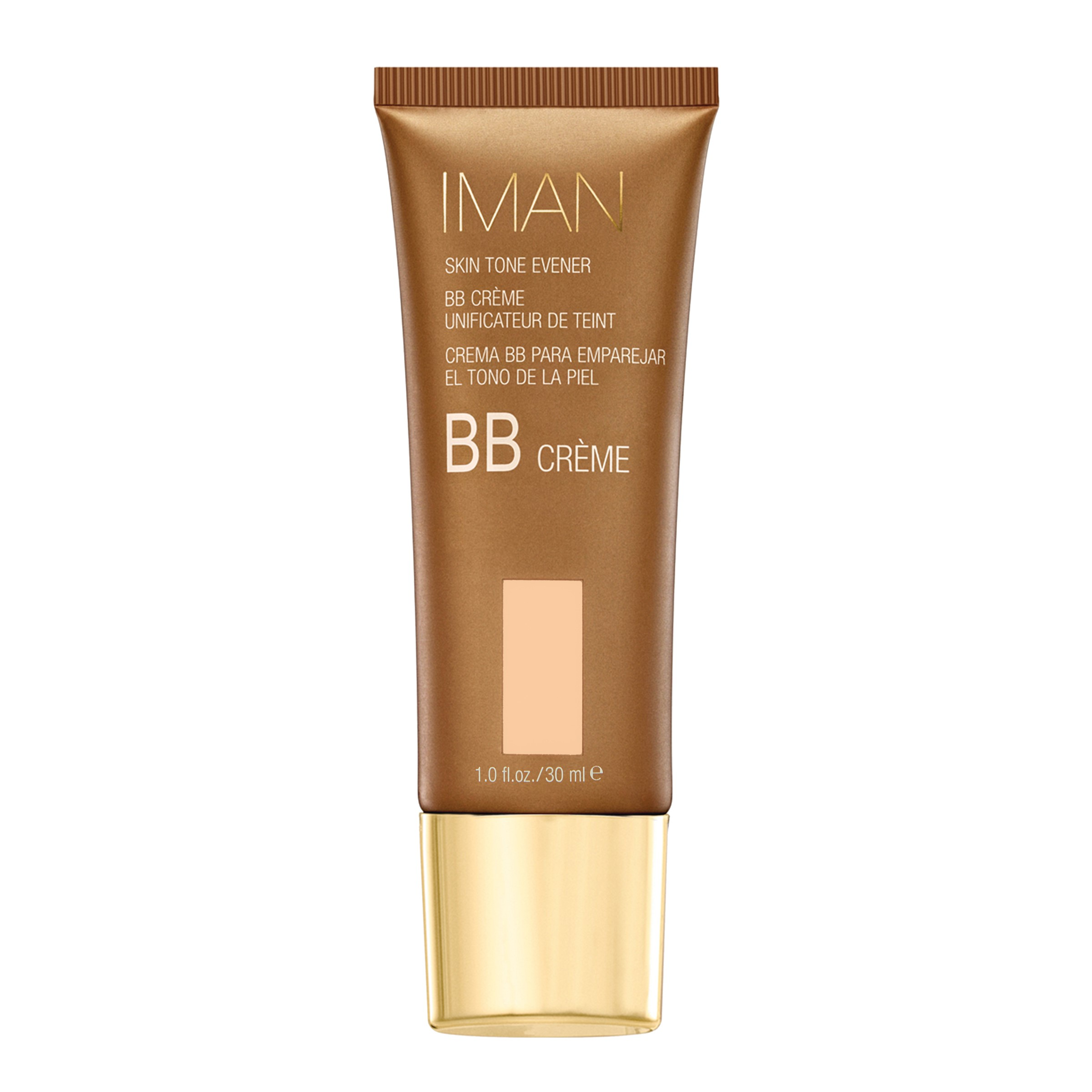 IMAN Skin Tone Evener BB Crème, Light Sand