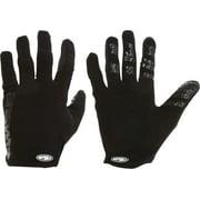 Answer Won Full Finger Glove: Black SM