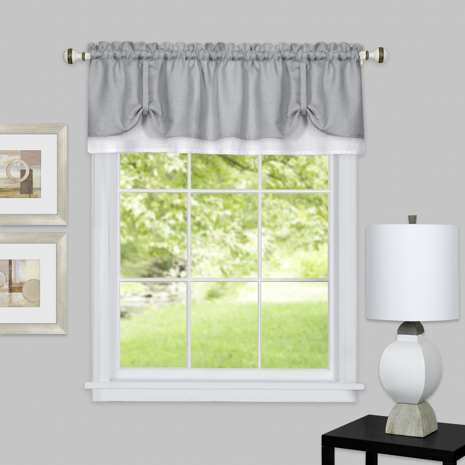 Darcy Window Curtain Valance 58x14