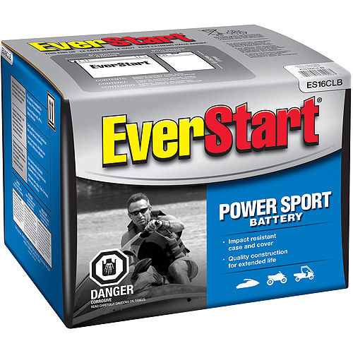 EverStart PowerSport Battery, Group Size ES16CLB
