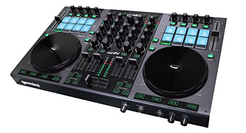 Gemini G4V 4-Channel Virtual DJ Controller by GCI Technologies