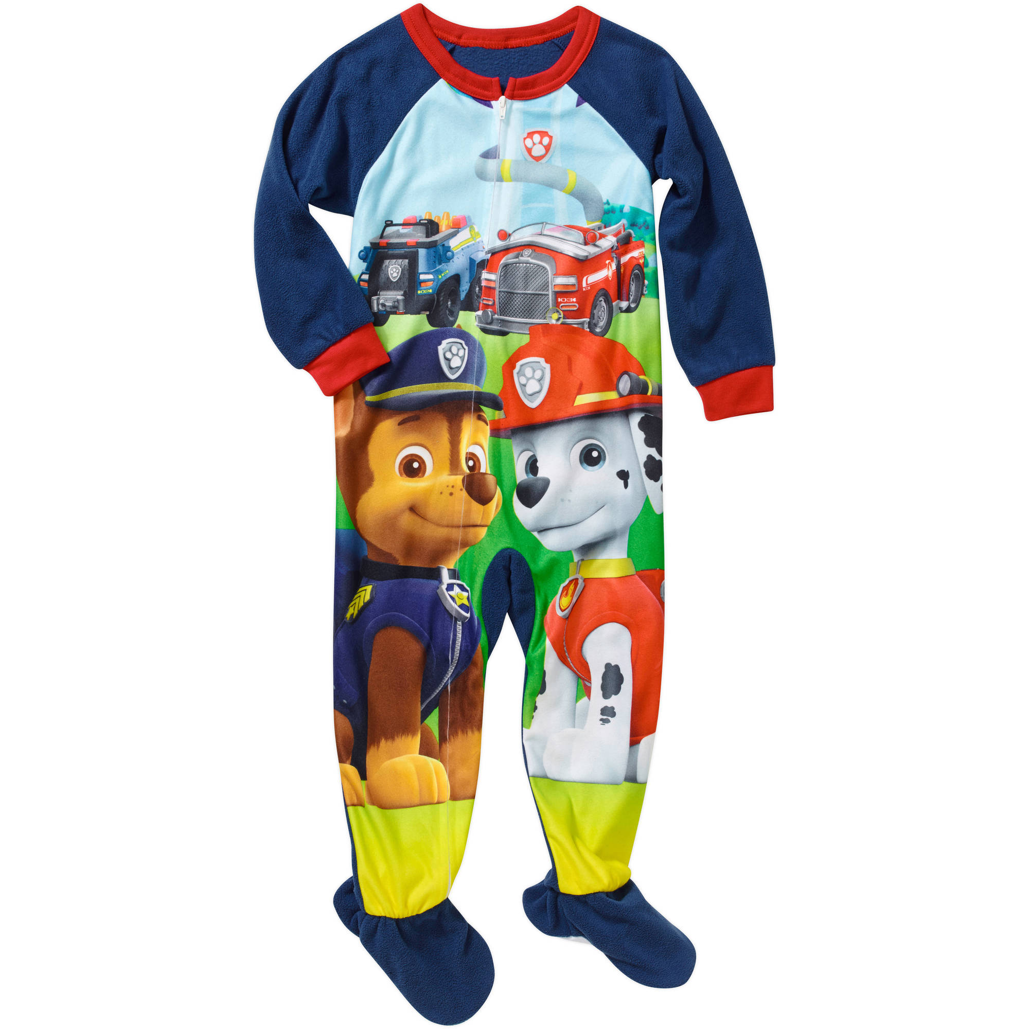Boys Footed Pajamas Breeze Clothing