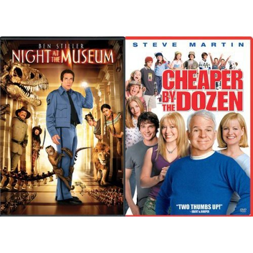 Night At The Museum / Cheaper By The Dozen (Widescreen)