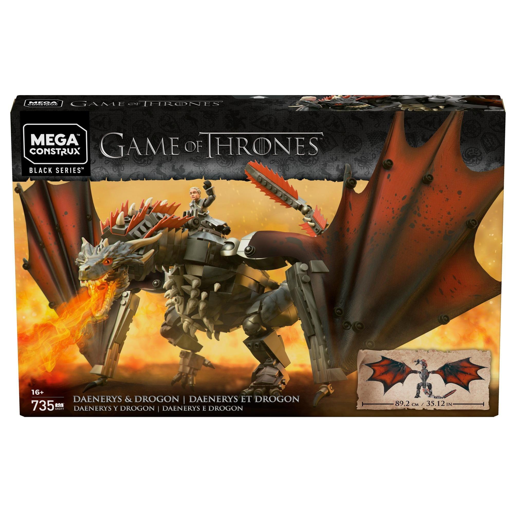 Mega Construx Game of Thrones Daenerys and Drogon