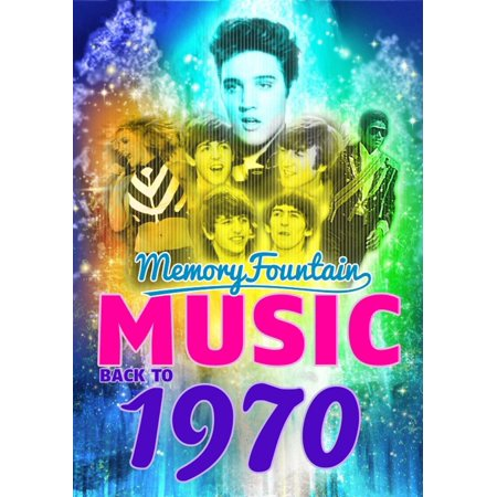 1970 MemoryFountain Music: Relive Your 1970 Memories Through Music Trivia Game Book Layla, Bridge Over Troubled Water, Let It Be by Beatles, and More! - (Bridge Over Troubled Water Artists For Grenfell)