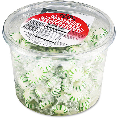 Office Snax Starlight Mints Spearmint Hard Candy, 2 lb