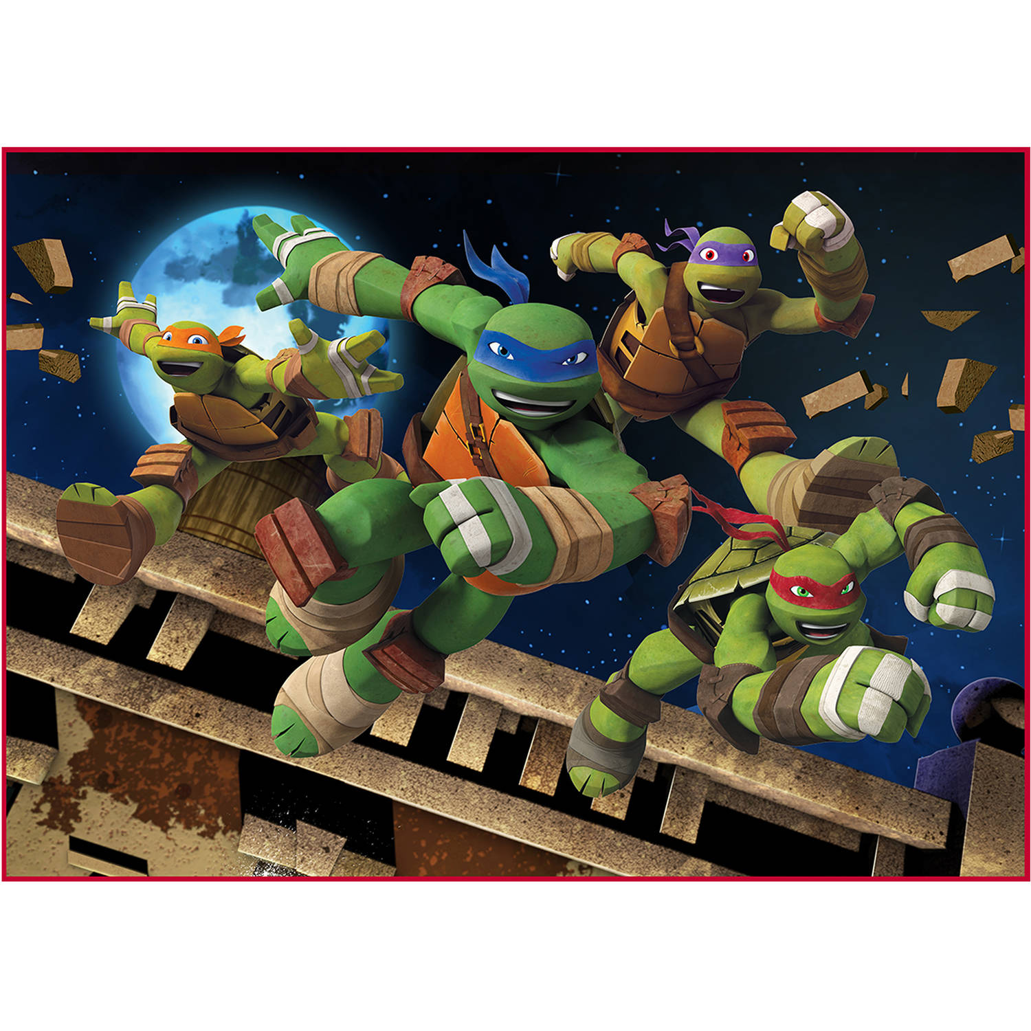 "Ninja Turtles ""We are Ninjas"" 40"" x 56"" Accent Rug"