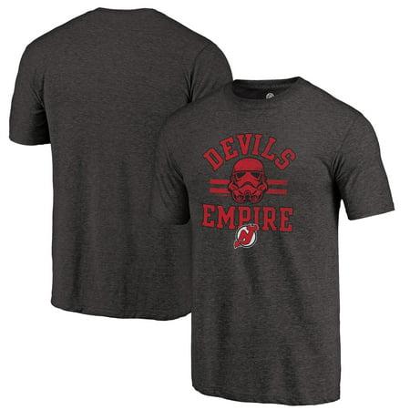 New Jersey Devils Fanatics Branded Star Wars Empire Tri-Blend T-Shirt - Black