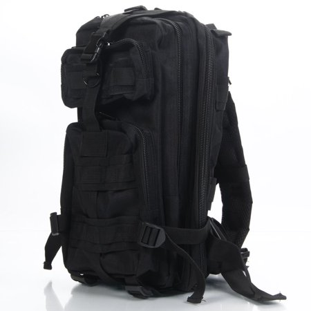 Ktaxon 3P Rucksack March Outdoor Tactical Backpack Shoulders Bag, 30L Military Army Assault Molle Bag, EDC Daypack For Hiking, Travelling, Camping, Trekking, Hunting And (Molle Assault Backpack)