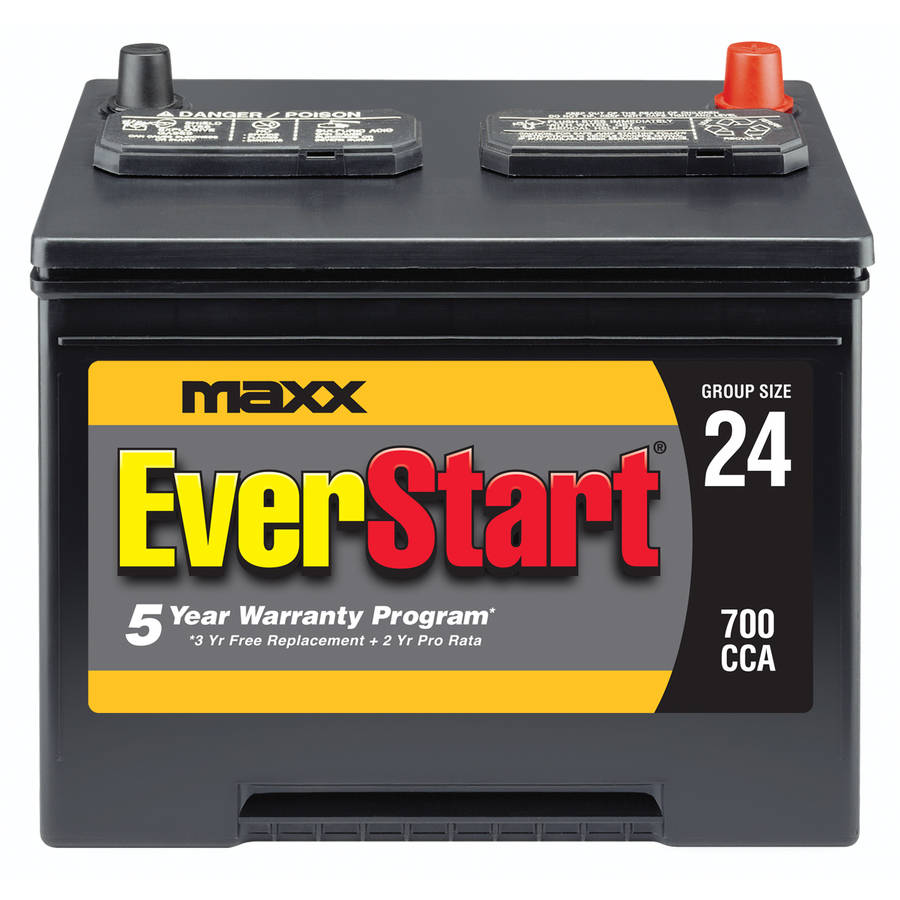 EverStart Maxx Lead Acid Automotive Battery, Group 24