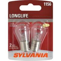 SYLVANIA 1156 Long Life Mini Bulb, Pack of 2