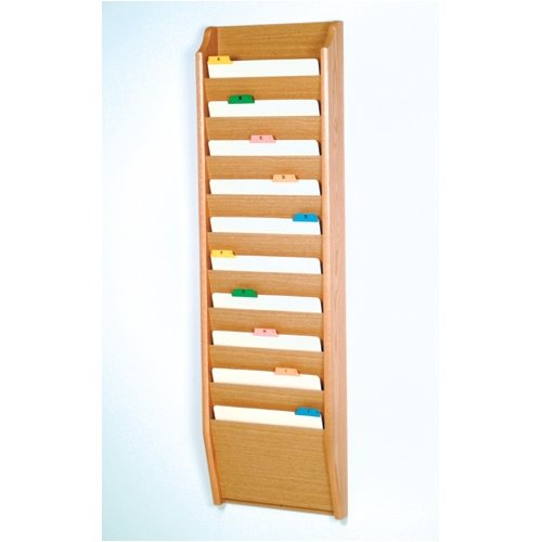 Wooden Mallet Ten Pocket Chart Holder