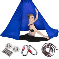 Large Bearing Sling Trapeze Hammock Nylon Taffeta Yoga Pilates Belts Invesion Tool Relieve Back Pain or Strain