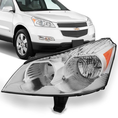 Fits 2009 2010 2011 2012 Chevy Traverse (LH) Driver Side Headlight Front Lamp Side Front Lamp