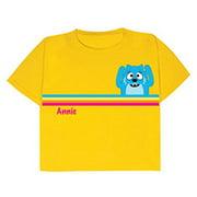 Personalized Yo Gabba Gabba! Toodee Girls' T-Shirt