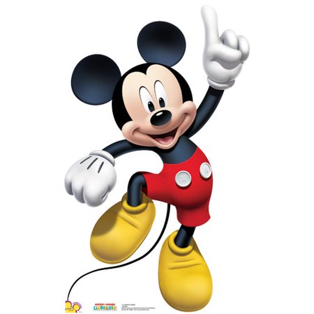 Mickey Mouse Cutouts (Advanced Graphics Disney Mickey Dance)