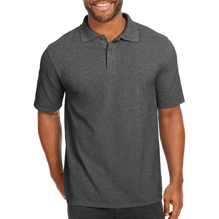 Hanes Big men's x-temp with fresh iq short sleeve pique polo shirt ()