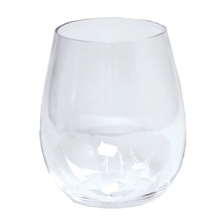 Acrylic Stemless Wine Glass 18.5oz Shatter Resistant BPA Free - Acrylic Wine Glasses