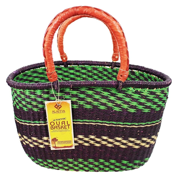 Oval basket ROCK XL