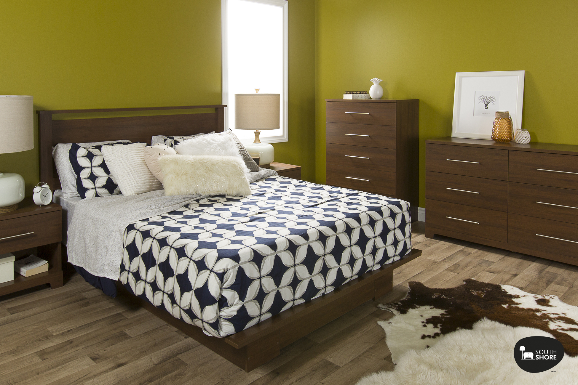 South shore primo bedroom furniture collection - South shore furniture bedroom sets ...