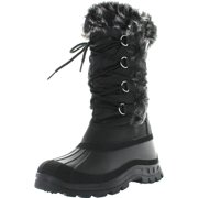 Top Moda SNOWY-1 Women's Lace Up Under Knee High Snow Boots