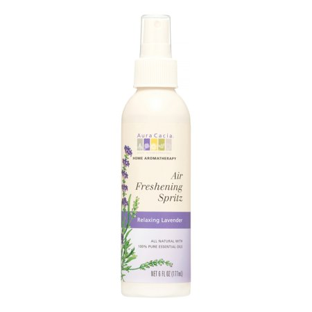 Aura Cacia For the Home Air Freshening Spritz, Relaxing Lavender, 6 Fl Oz Aura Cacia Relaxing Lavender