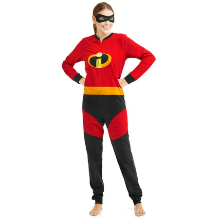 Tiger Onesie For Adults (Disney Holiday Family Sleep The Incredibles Family Matching Onesie Pajama)