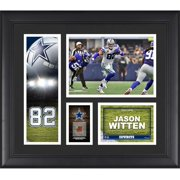"""Jason Witten Dallas Cowboys Framed 15"""" x 17"""" Player Collage with a Piece of Game-Used Football"""