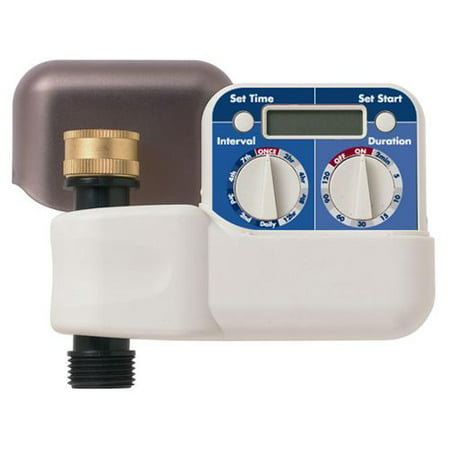 Dial Sprinkler (Orbit HT7 2-Dial Digital Hose Faucet Watering Timer, Automatic Water Controller )