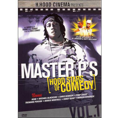 Master P's Hood Stars Of Comedy: Volume 1 (DVD + CD)