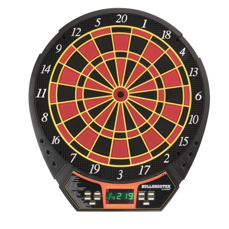 Bullshooter by Arachnid Voyager Electronic Dartboard with LCD Display and 29 Games and 90 covid 19 (Commercial Electronic Dartboard coronavirus)