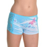 Angelina Cotton Boxers with Butterfly and Lace Design (12-Pack)