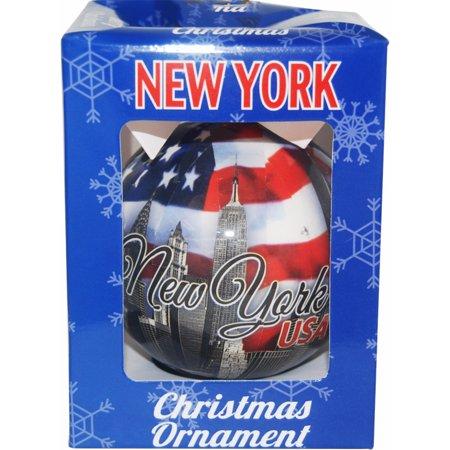 New York Yankees Christmas Ornaments - New York USA Christmas Ornament